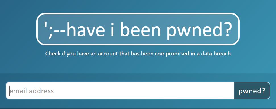 自分のアカウントが流出したかチェックする方法。無料Webサービス「have i been pwned」の使い方